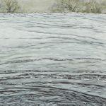 """""""Weisser Acker"""", 2011, 100 x 100 cm, Acryl auf LW"""