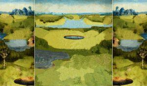 """""""Ohne Titel (Garten Der Lueste)"""", C-Print, 180 x 100 cm, 2018"""