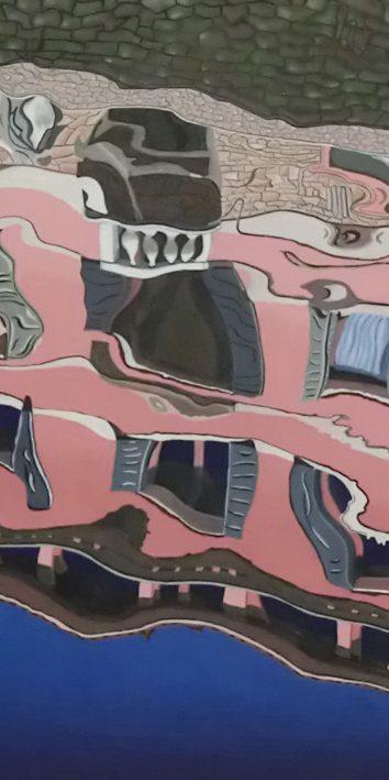 """Palast In Venedig"", 2017"