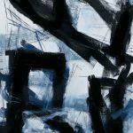 o. T., Öl auf Leinwand, 40 x 30 cm