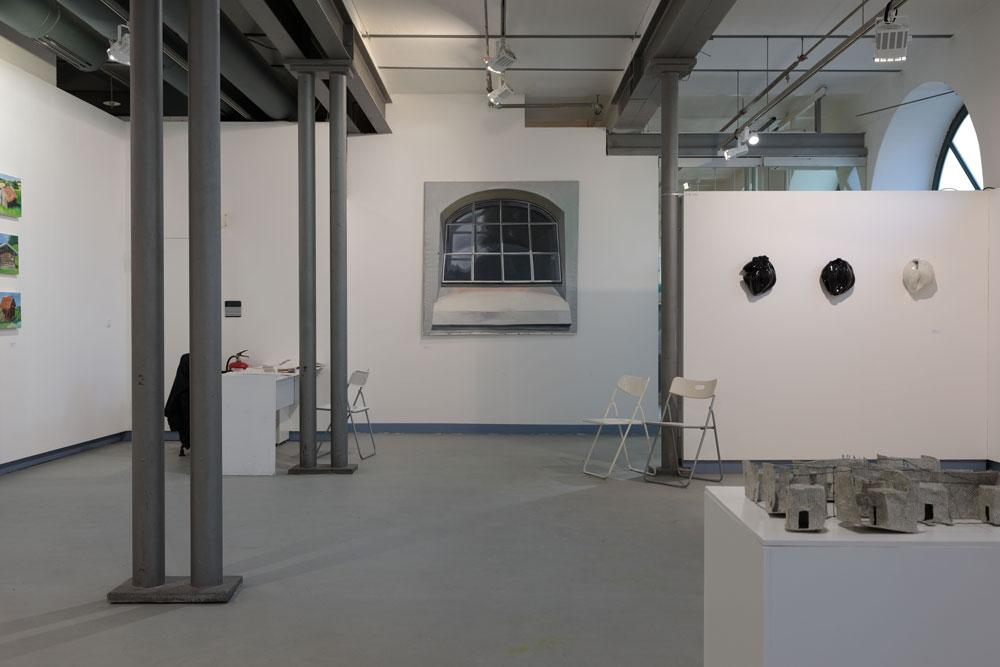 Ausstellungsansicht Hide and See