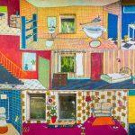Esther Zahel | Inside Out | Fassadenmalerei | 2019